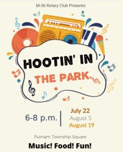 Hootin' in the Park @ Putnam Township Square