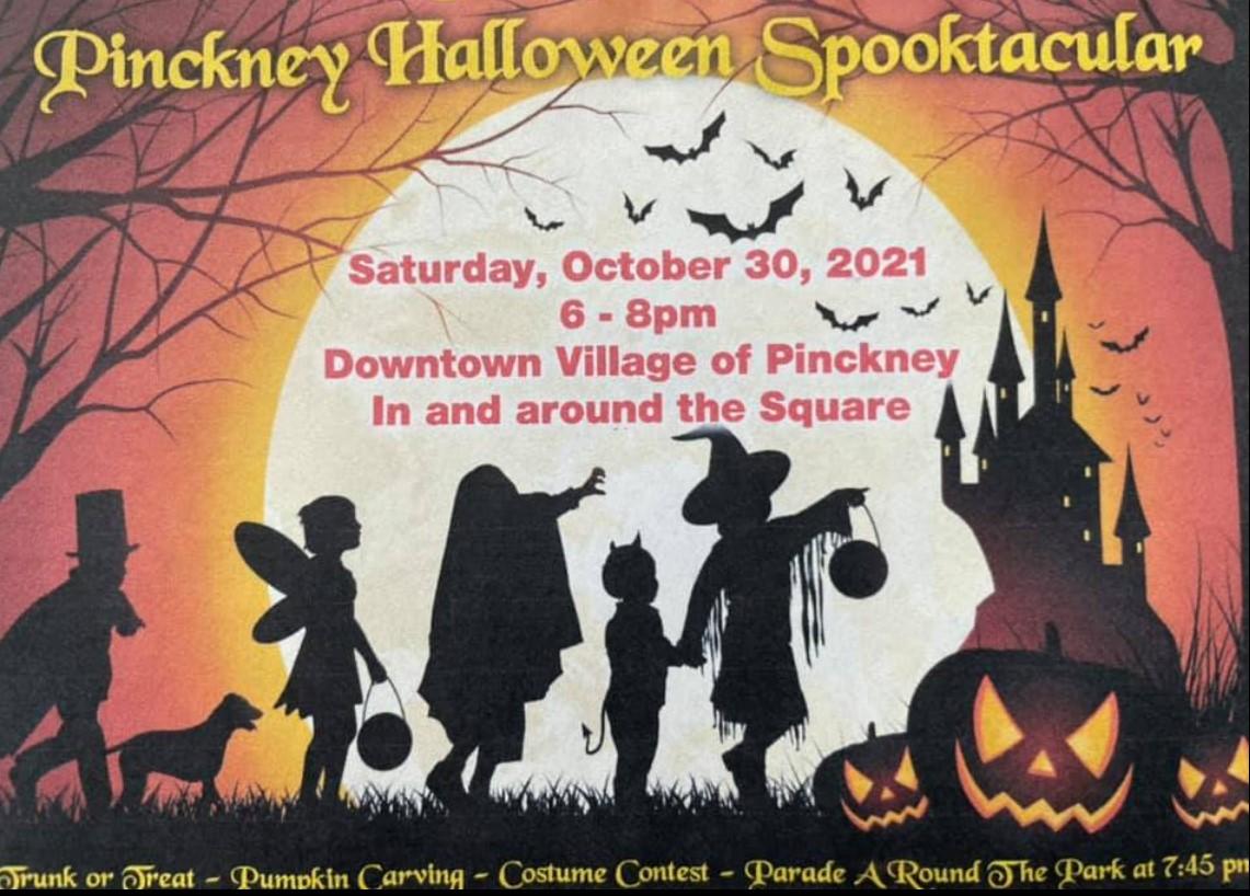 Spooktacular      *       October 30       *      6-8pm
